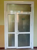 Двери металопластиковые