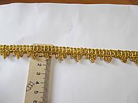 Тасьма декоративна люрекс золото 1.7 см