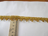 Тасьма декоративна Тасьма декоративна люрекс золото 1.7 см