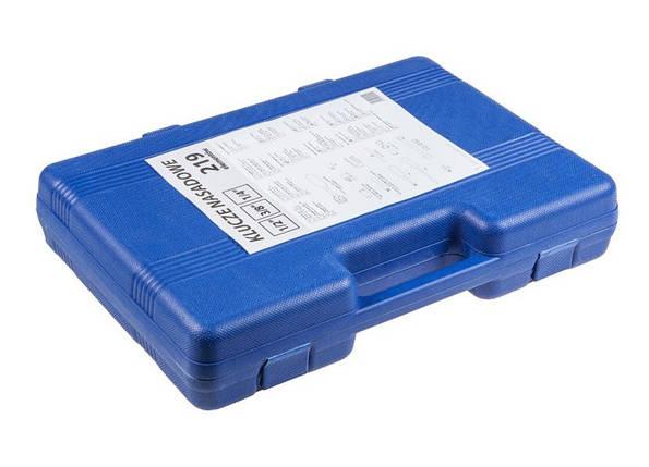 Набор инструментов TOPEX DD104, комплект 219 элементов, фото 2
