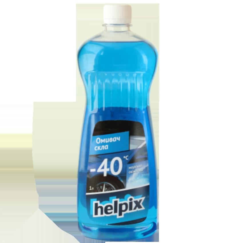 """Омыватель стекла Helpix """"-40"""" с запахом морской свежести, 1 литр - Інтернет-магазин Propanda © в Хмельницком"""