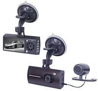 Автомобильный видеорегистратор DVR-312 на три камеры