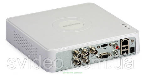 DS-7104HQHI-F1/N HIKVISION, 4-канальный Turbo HD видеорегистратор , фото 2