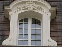 Фасадное обрамление и окантовка окон и дверей камнем