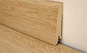 Плинтус Tarkett TANGO деревянный шпонированный сечением 20х80