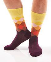 YOsox мужские яркие носки