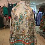 Палантин  батик индия ручная работа , фото 3