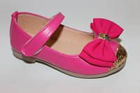 Праздничные туфельки для девочек 27-31р. розовые