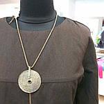 Вовняне плаття по коліно балон 48-50 ексклюзив 1 шт, фото 3