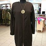 Вовняне плаття по коліно балон 48-50 ексклюзив 1 шт, фото 2