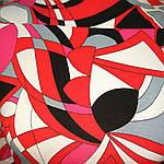 Красная хлопковая кофточка молодежная короткая до талии, фото 5