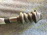 Вал и червяк рулевого вала Ваз 2105 2104 2107, фото 6