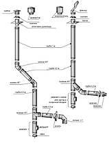 Нержавеющая труба  Ф100/160 н/оц, фото 3