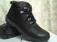 Зимние мужские коричневые ботинки Detta