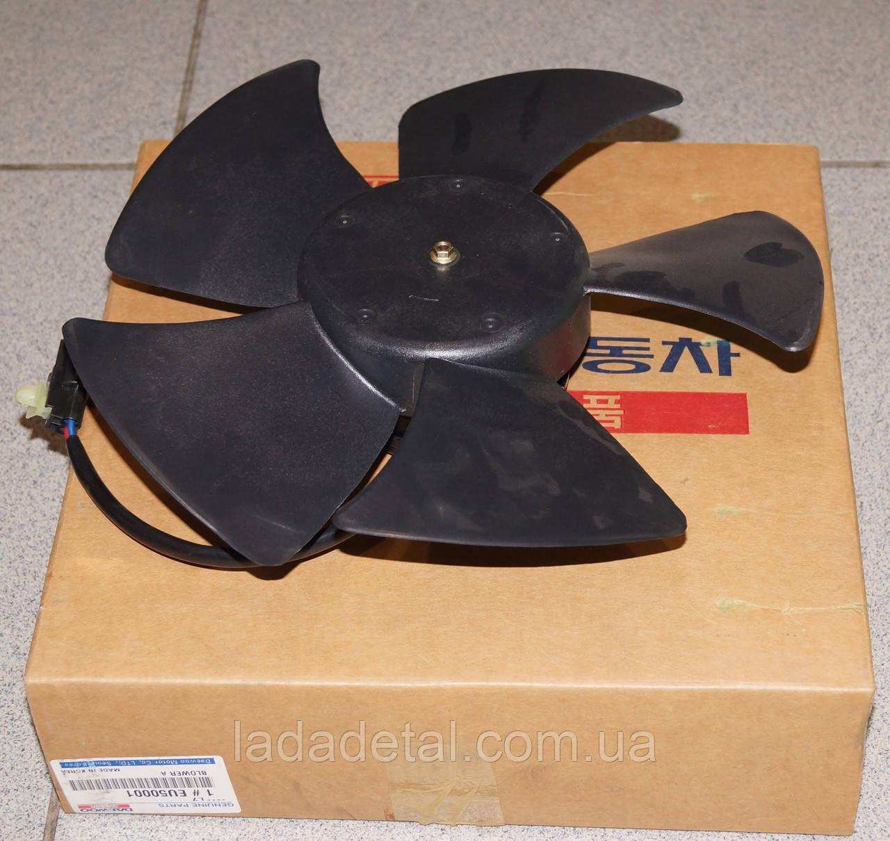 Вентилятор радиатора Ланос (без кондиционера)