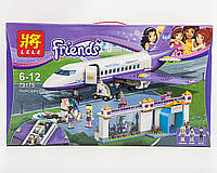 "Конструктор  Friends Lele 79175 ""Аэропорт Хартлейк Сити"" 701 деталь (аналог LEGO Friends 41109), фото 1"
