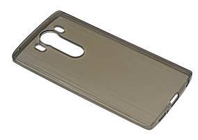 Силиконовый чехол Ultra-thin на LG V10 H961S Clean Grid Black