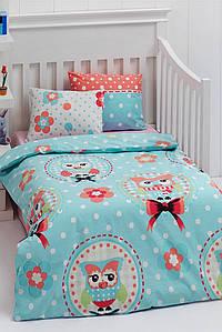 Детское постельное белье для младенцев Eponj Home Baykus A.mavi