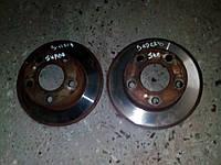 Диски тормозные задние пара Skoda Superb / VW Passat B5
