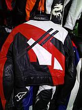 Мото куртка б/у кожа женская HenGericke, фото 3