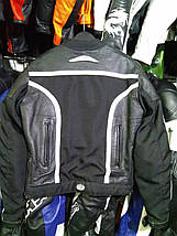 Мото куртка б/у кожа женская FRANK THOMAS, фото 3