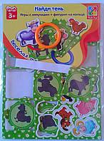 """Развивающие Игра с липучками """"Веселая ферма"""" VT1307-08 Vladi Toys Украин"""