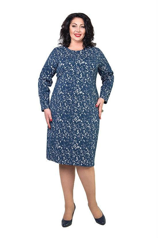Женское платье больших размеров Эдди р 50,52,54,56