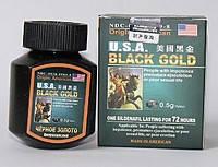 Черное золото - таблетки для потенции, 16 капул