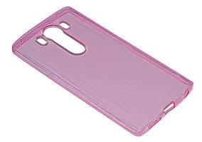 Силиконовый чехол Ultra-thin на LG V10 H961S Pink