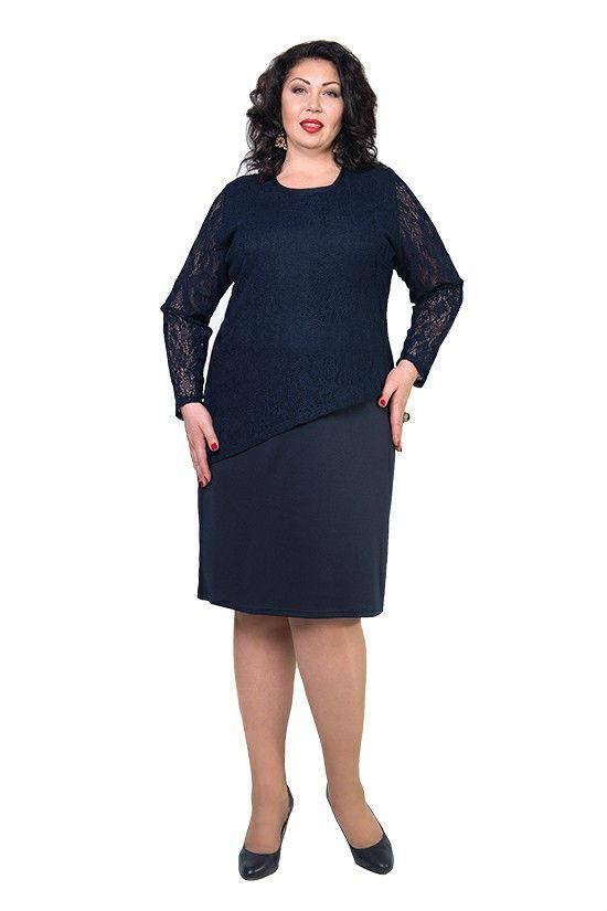 Женское платье больших размеров Эшли р 48,52,54,56,60