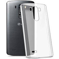 Силиконовый чехол Ultra-thin на LG V10 H961S Clean Grid Transparent