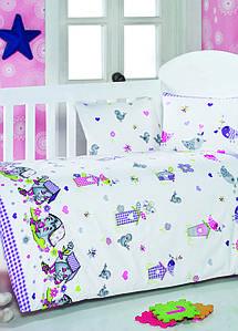 Детское постельное белье для младенцев Eponj Home Kuslar Lila