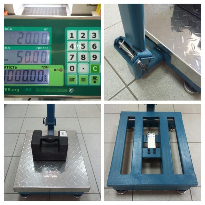 Товарні ваги Jadever JBS-700М_60кг (400×500мм)