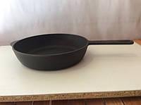 Чугунная сковородка с чугунной ручкой 160х 40мм