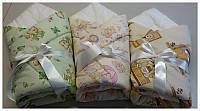 Зимний конверт-одеяло для новорожденных