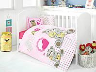 Детское постельное белье для младенцев Eponj Home Yumos Pembe