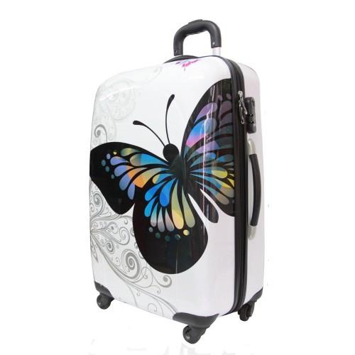 Чемодан Бабочка маленький поликарбонат  продажа 57485bac5710d