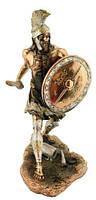 Статуэтка воин, римлянин покрытый латунью 110х200х150