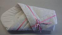 Конверт-одеяло детский с ленточкой зимний