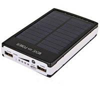 Зарядний пристрій з сонячною батареєю Power Bank 25000mah Solar 2 USB (С4531) 9600 FX