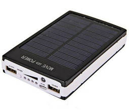 Зарядное устройство с солнечной батареей Power Bank 25000mah Solar 2 USB (С4531) 9600 FX