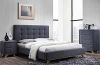 Ліжко з ДСП/МДФ в спальню двоспальне Melissa 160*200 Signal