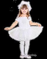 Детский карнавальный костюм Снежинки Код 9149