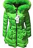 Женская куртка яркая салатовая весна оптом