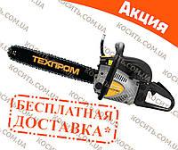 Бензопила Техпром TБП-6000 (2 шины, 2 цепи)