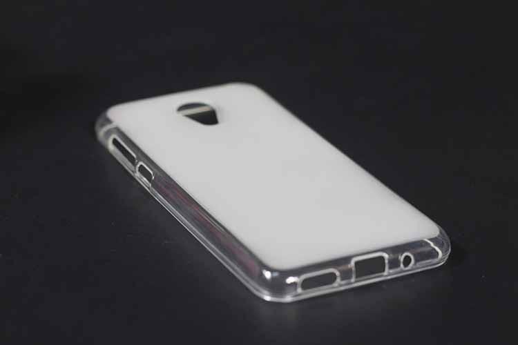 Чехол TPU для Meizu M3 / M3s / M3 mini бампер оригинальный белый