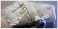 """Конверт-ковдру для новонародженого зимовий """"Медвежатко"""", фото 1"""