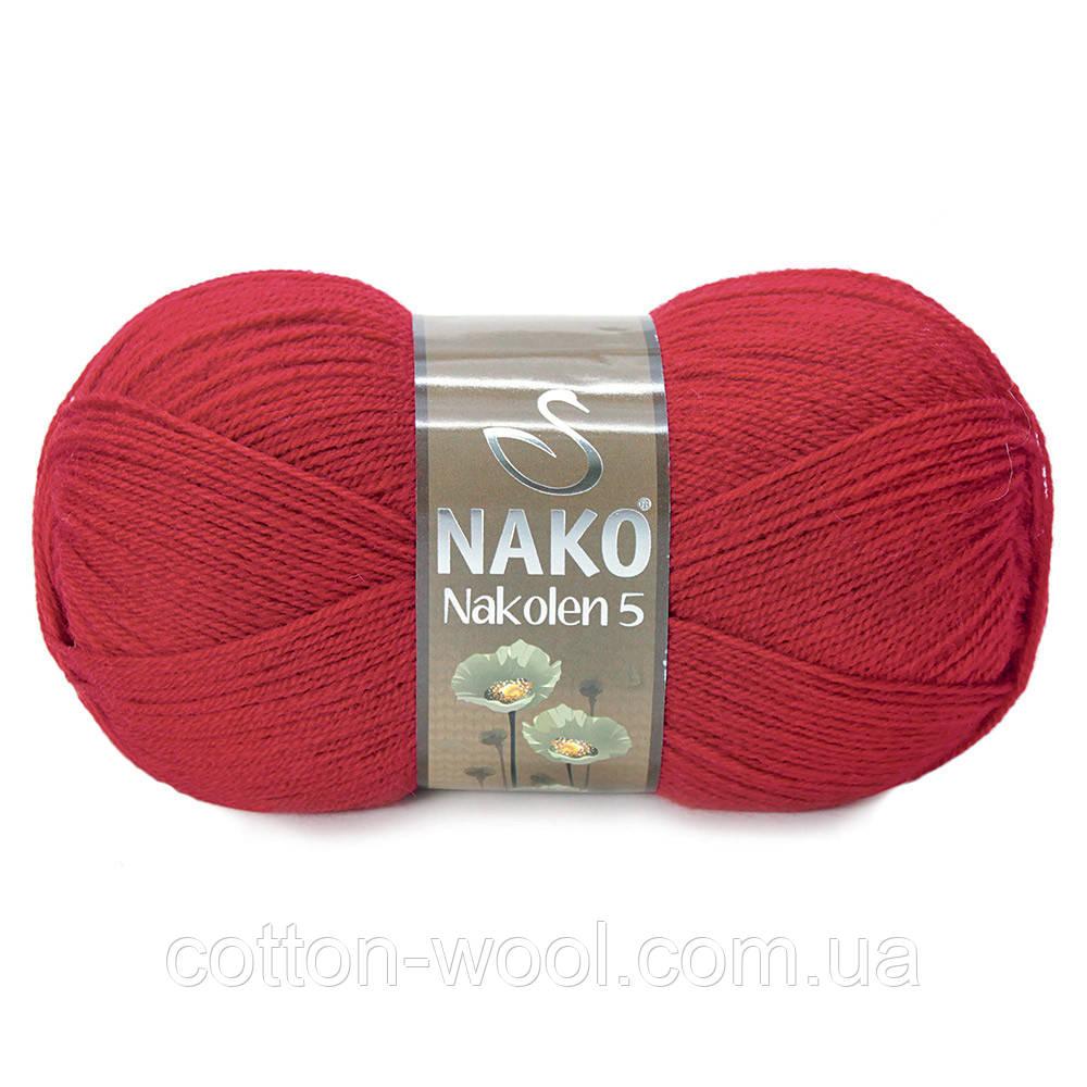 Nako Nakolen 5 (Нако Наколен 5) 1175 красный