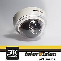 Внутренняя  видеокамера UHD-3K-312DAI, InterVision  6 Мп Canon 2.8-12 мм ULTRA HD
