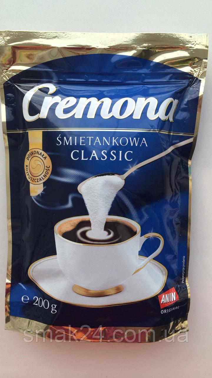 Сливки сухие в кофе  Cremona classik  Польша 200г